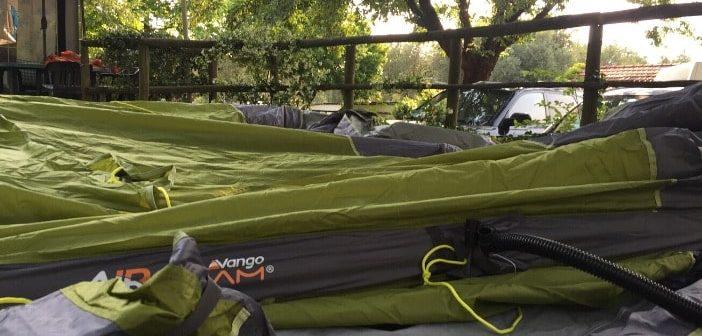 Tende da campeggio gonfiabili: pro, contro e cosa sapere per l'acquisto