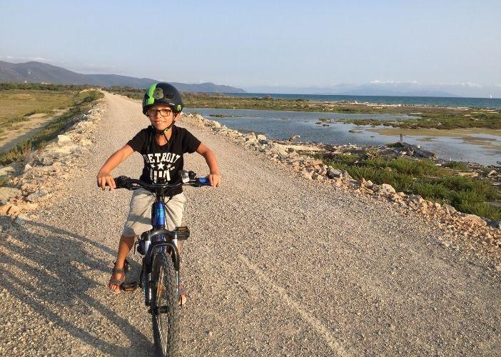 casco da bici bambino